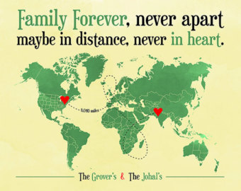 distance quotes family
