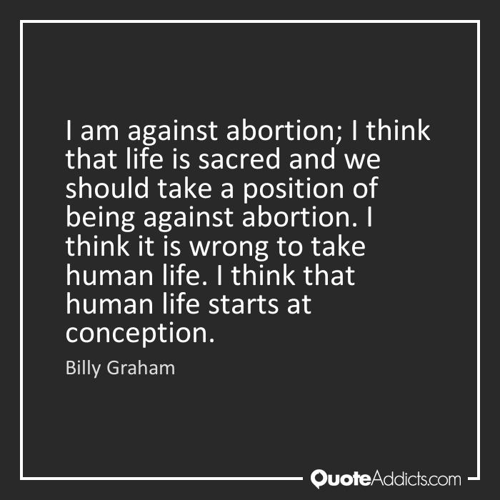 anti abortion position