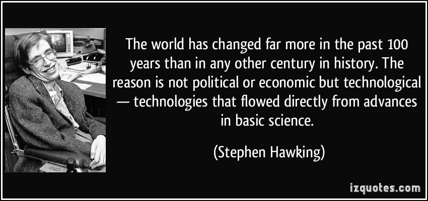 how science has changed our lives