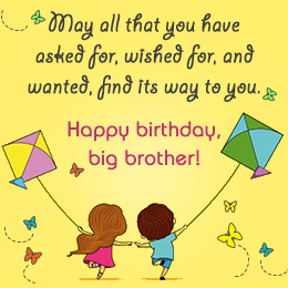 Quotes About Brother Birthday