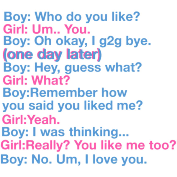 Cute quotes about boys and girls