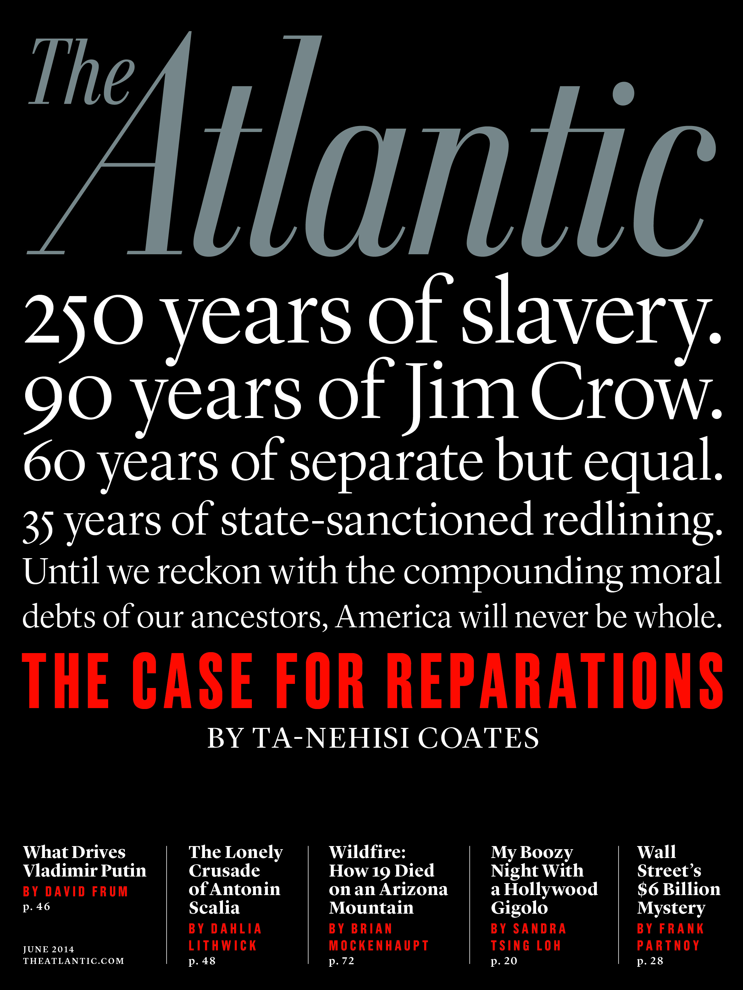 against slavery reparations essays
