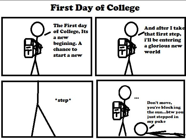Quotes about Last day at college (15 quotes)