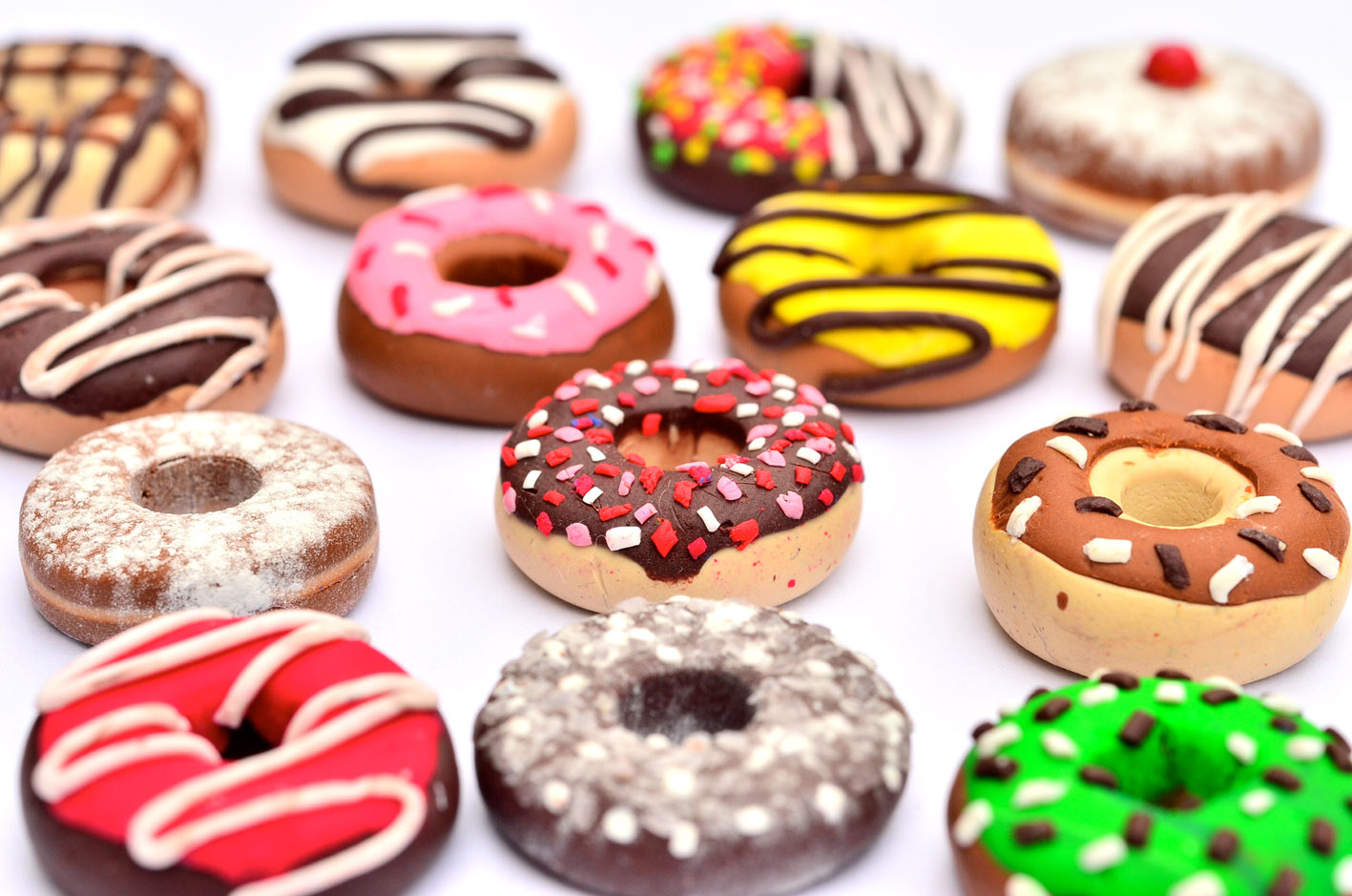 Dunkin donuts пончики