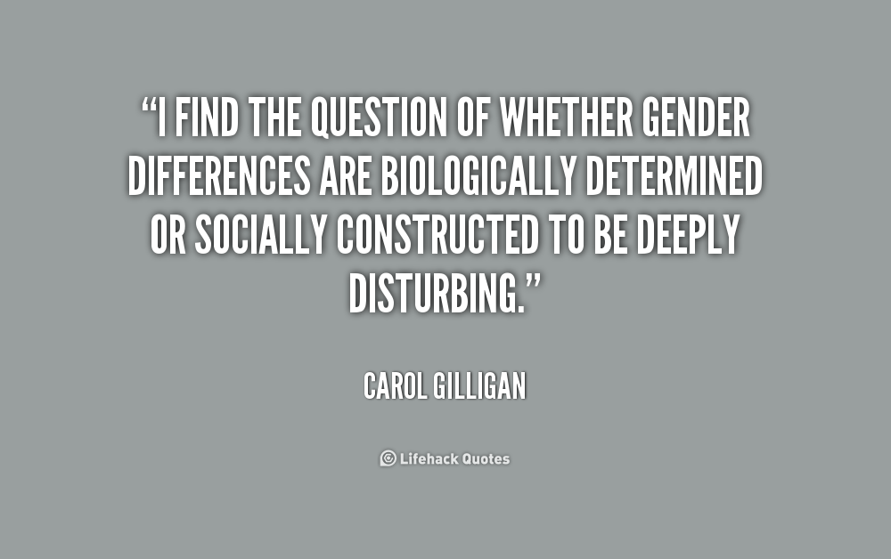 Quotes about Gender difference (39 quotes)