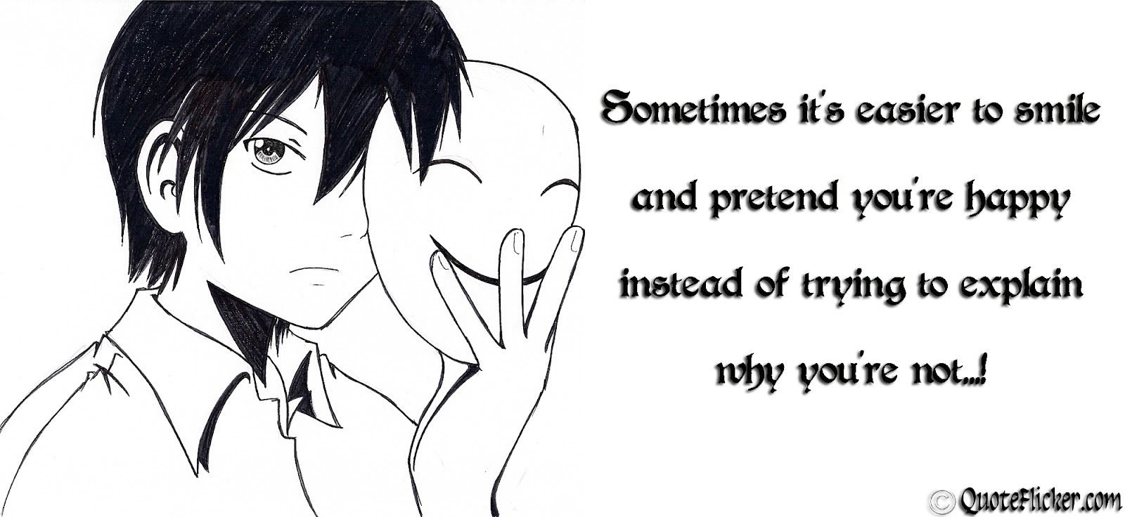 Quotes About Pretending Smile 34 Quotes