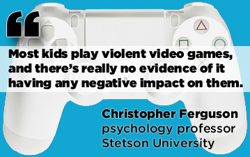 violent videogames do not cause violent