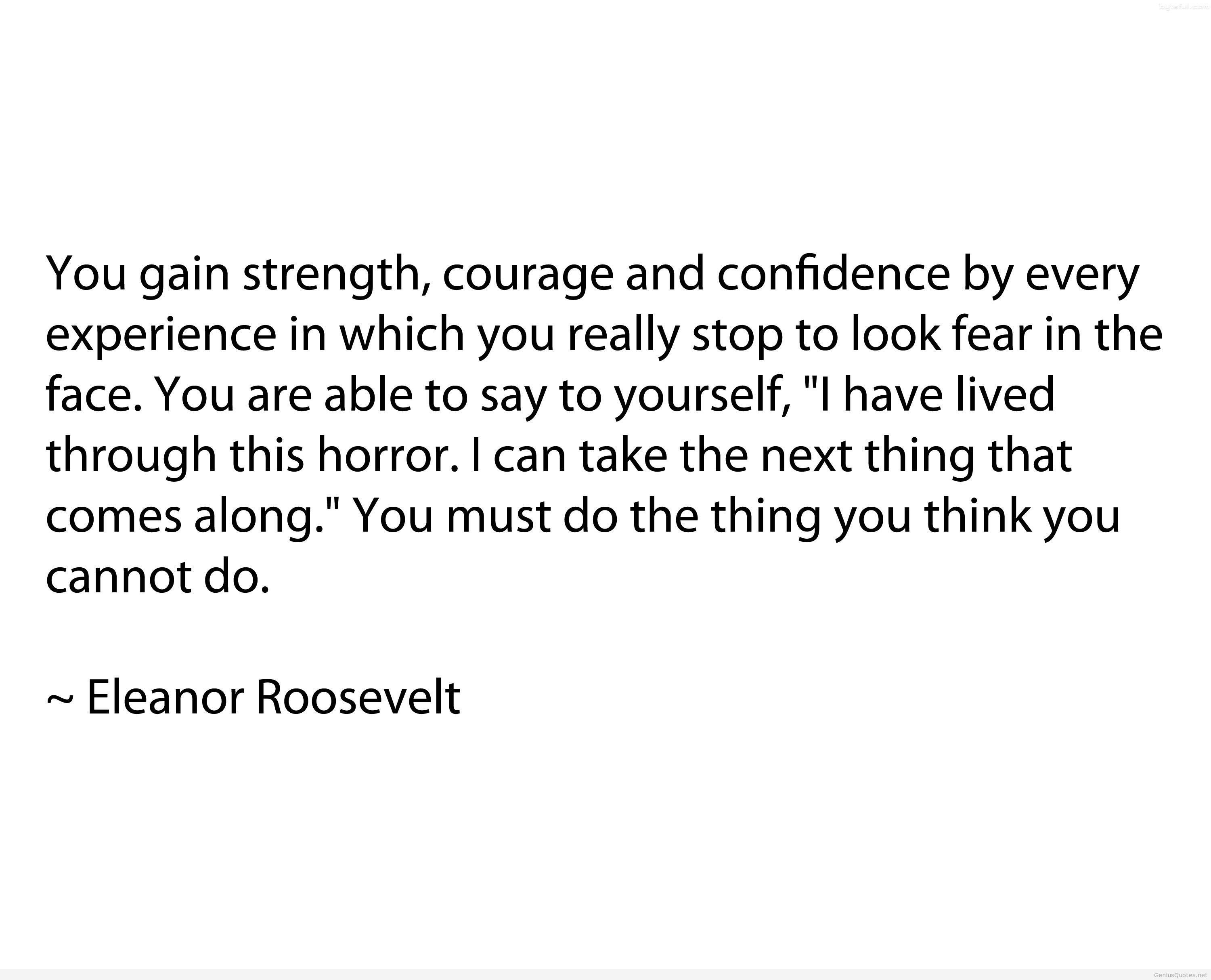 Quotes About Courage And Confidence 107 Quotes
