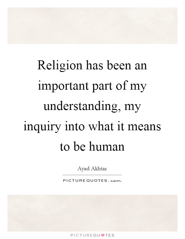importance of religion to the human Why is religion important - human nobility is the result of education it is not innate.