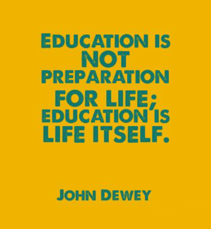 education and life Happiness and education – theory, practice and possibility the adults in these happy places recognize that one aim of education (and of life itself.