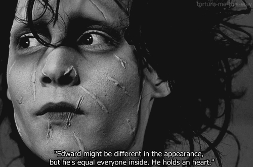 edward scissorhands essay quotes