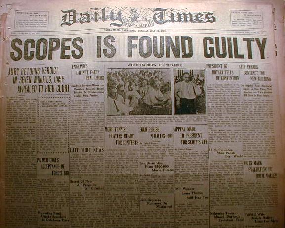 Scopes Trial Essay