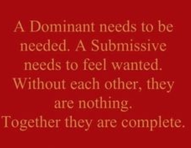 man submissive woman quotes Dominant