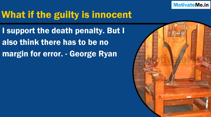 a wise delay by governor ryan about death penalty system