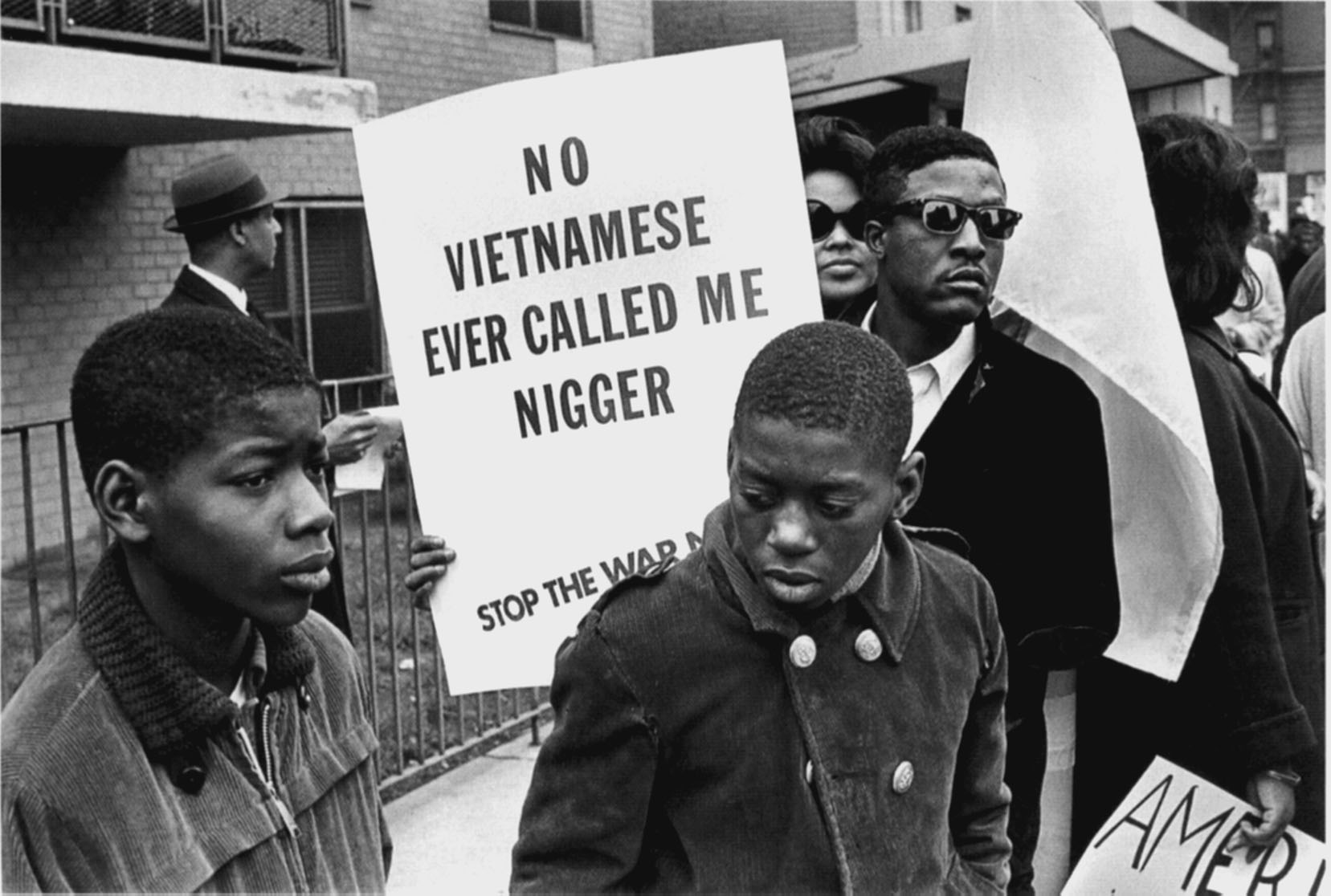 the criticism of civil rights activists against the us vietnam war