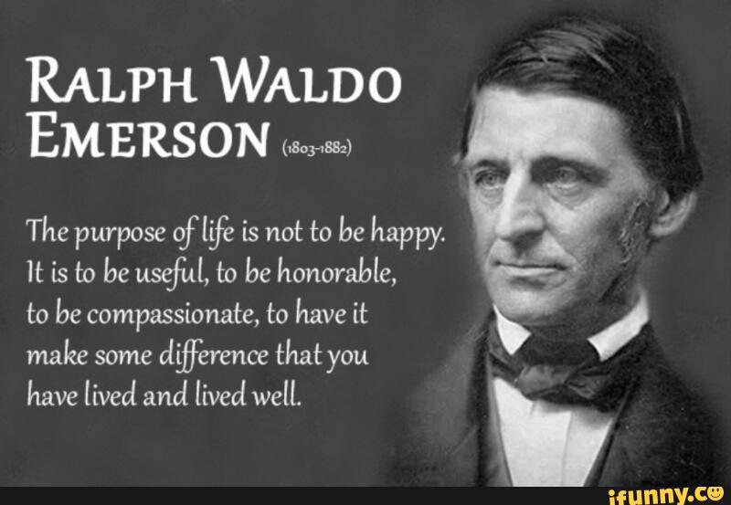 the central theme of idealism and reality in the literary works of ralph waldo emerson