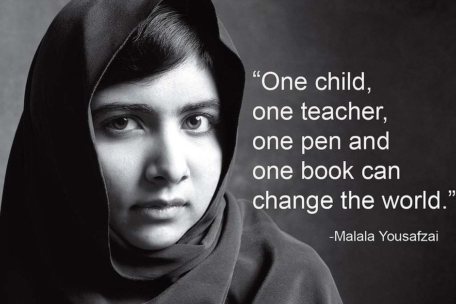 Image of: Nelson Mandela Quotemasterorg Quotes About Education Malala 38 Quotes
