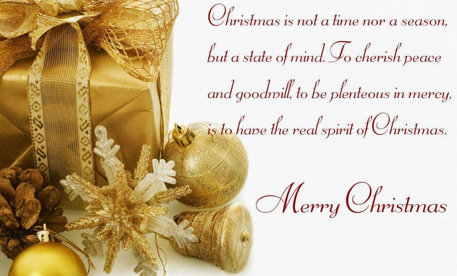 Quotes about Christmas blessings (28 quotes)