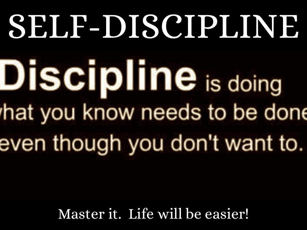 need discipline life essay Speech on importance of discipline in life essays and speech on importance of discipline in life where self-discipline fails we need a support system.