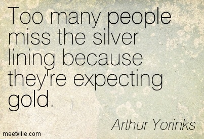 Quotes about silver linings