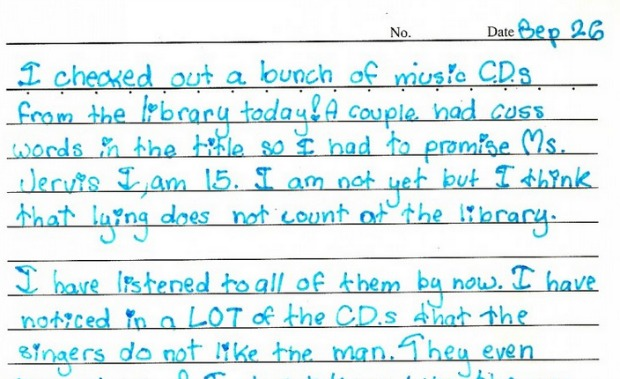 examples of diary entry for class 9