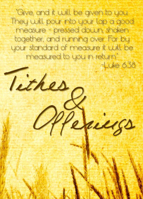 quotes about tithing and offerings 16 quotes