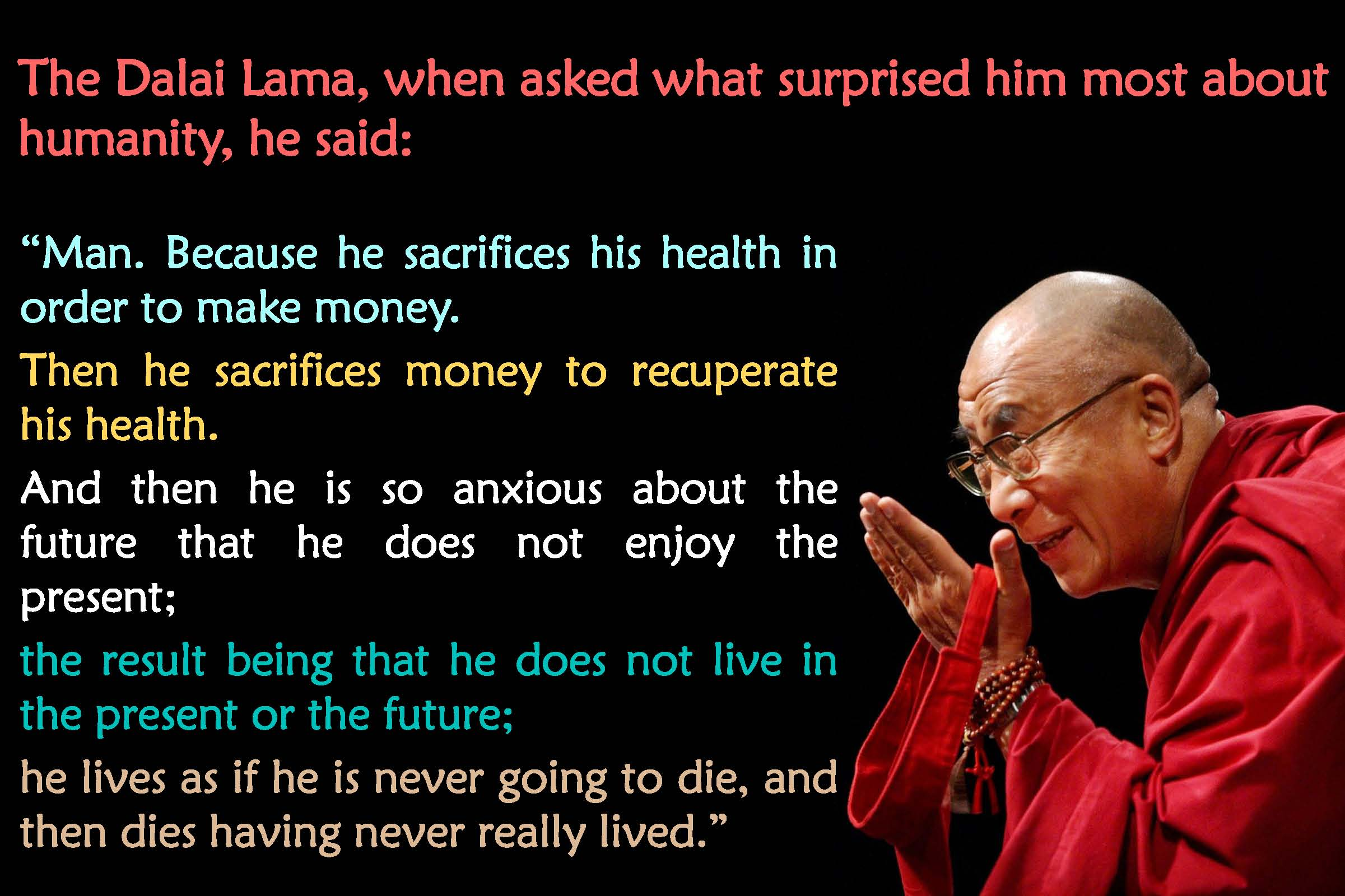 quotes about health dalai lama 20 quotes