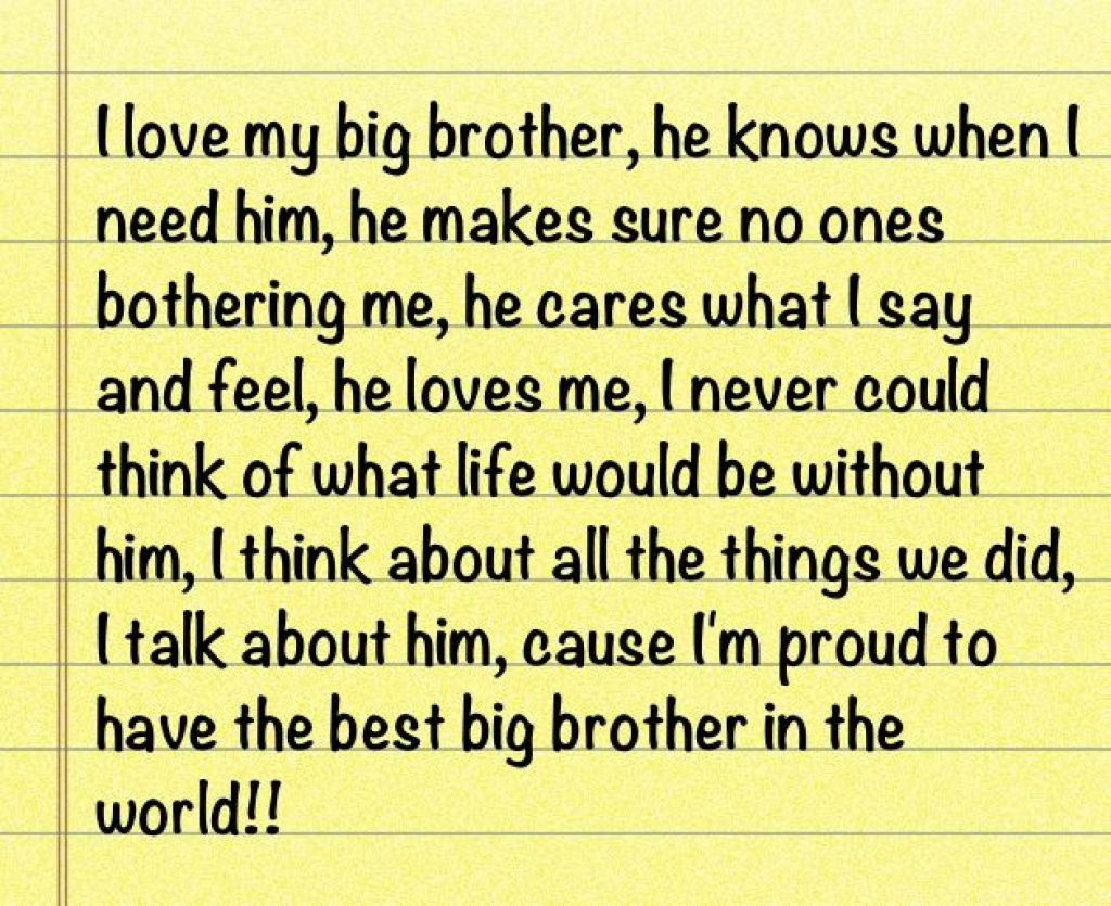 quotes about love my brother