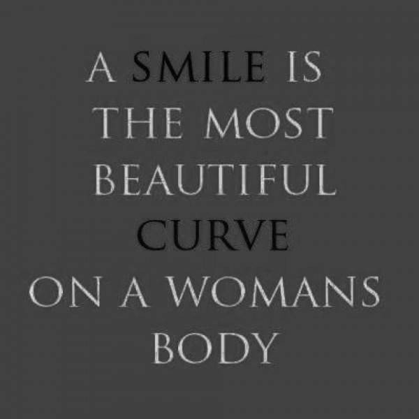Quotes About Beautiful Woman Smiling 20 Quotes