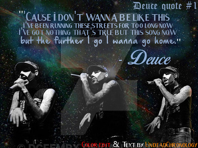 Quotes About Deuces 60 Quotes Enchanting Tyga Deuces Quotes