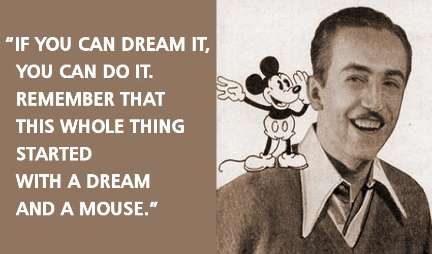 Quotes About Dreams Walt Disney 54 Quotes