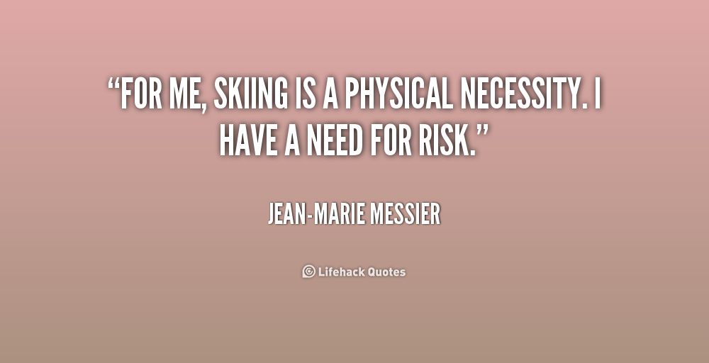 Skiing Quotes Impressive Quotes About Skiing 48 Quotes