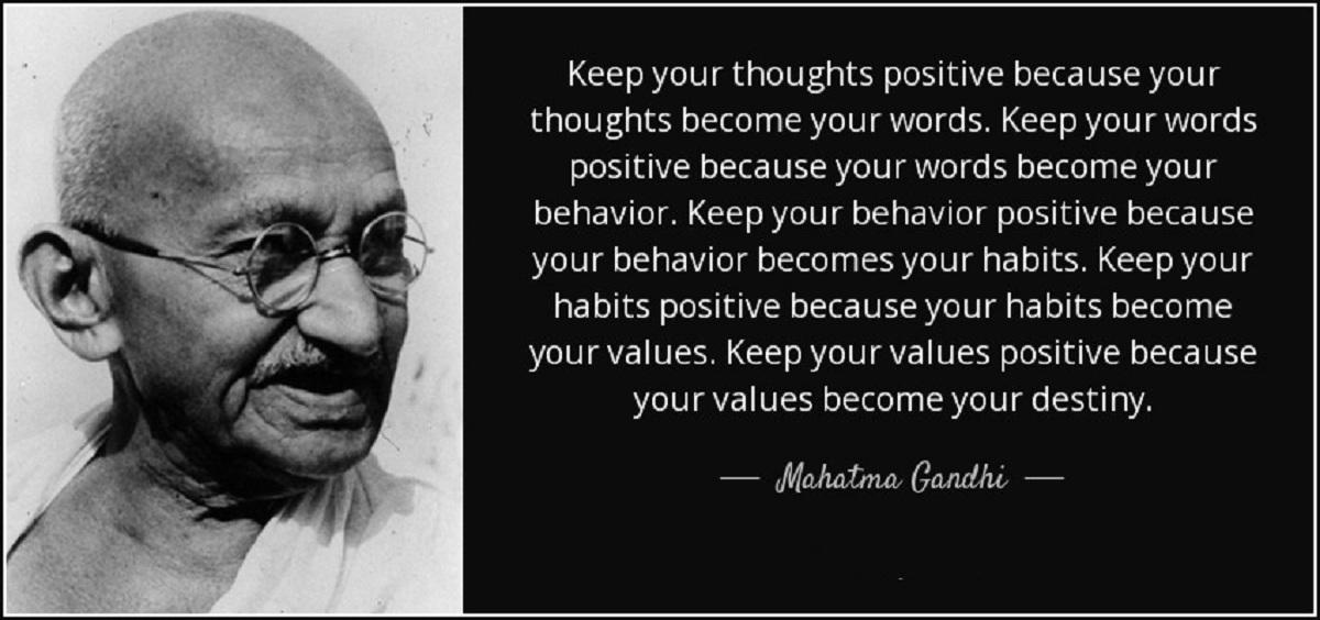 few words about mahatma gandhi