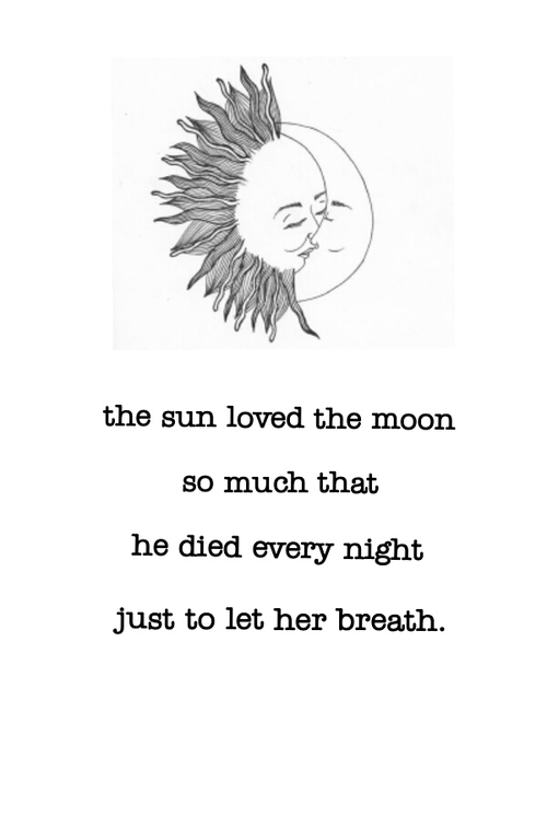 Quotes About Sun Moon And Stars 60 Quotes Adorable Sun And Moon Quotes