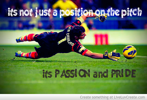 Soccer quotes for goalies