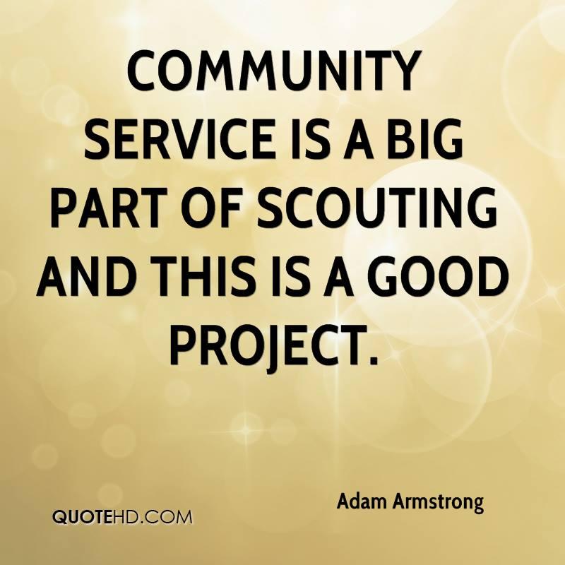 Quotes About Community: Quotes About Community Service (85 Quotes