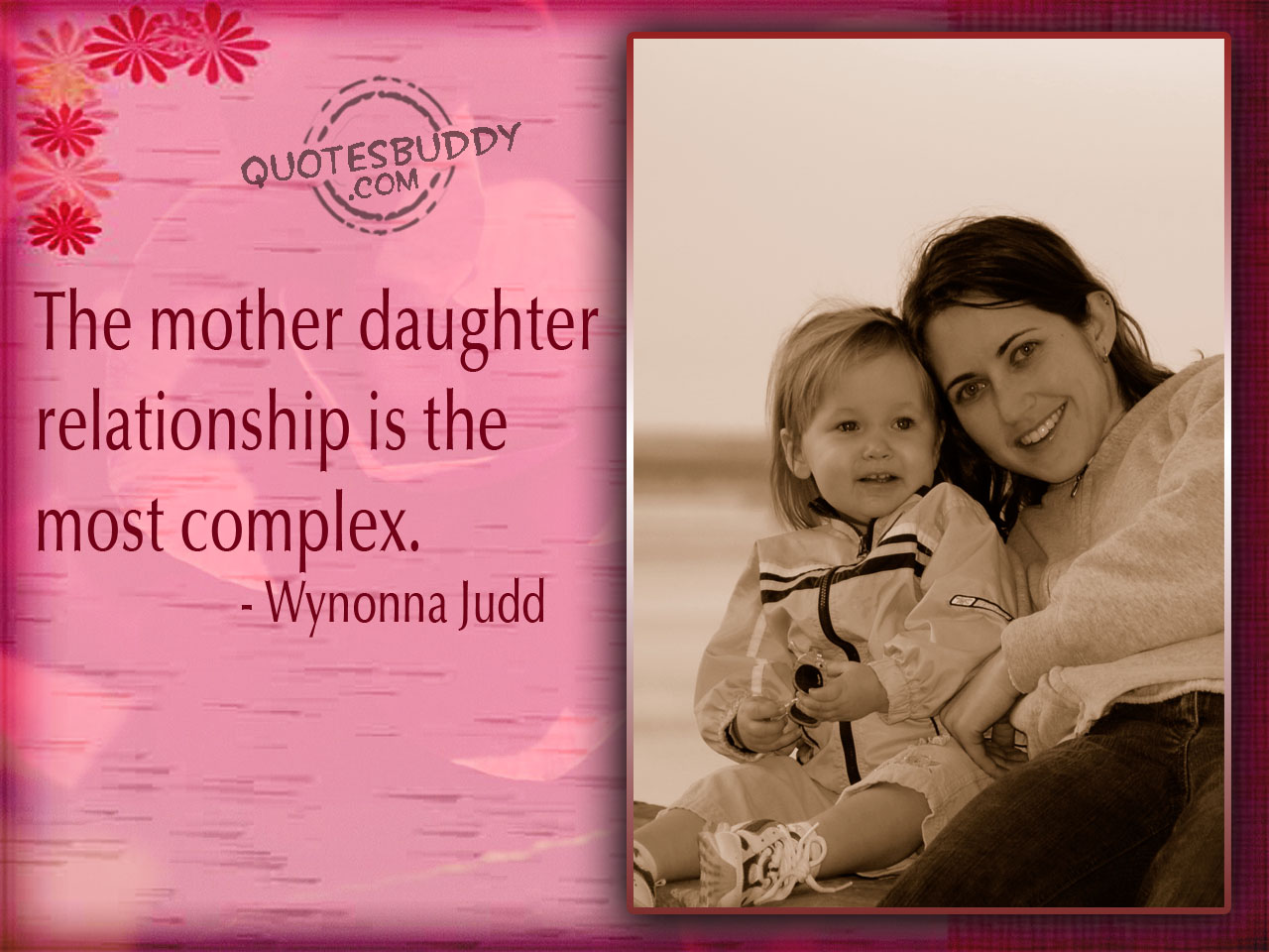 Quotes About Mom Daughter Relationships 20 Quotes