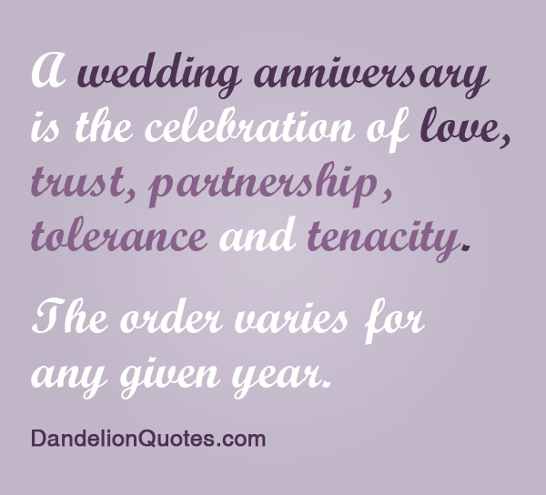 Quotes About Love Wedding Anniversary