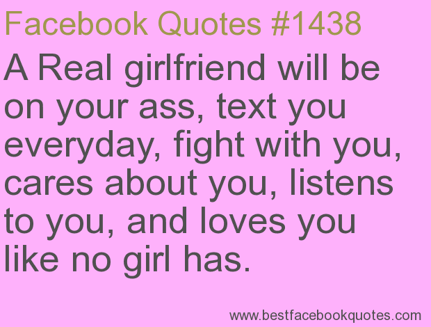 A real girlfriend quotes