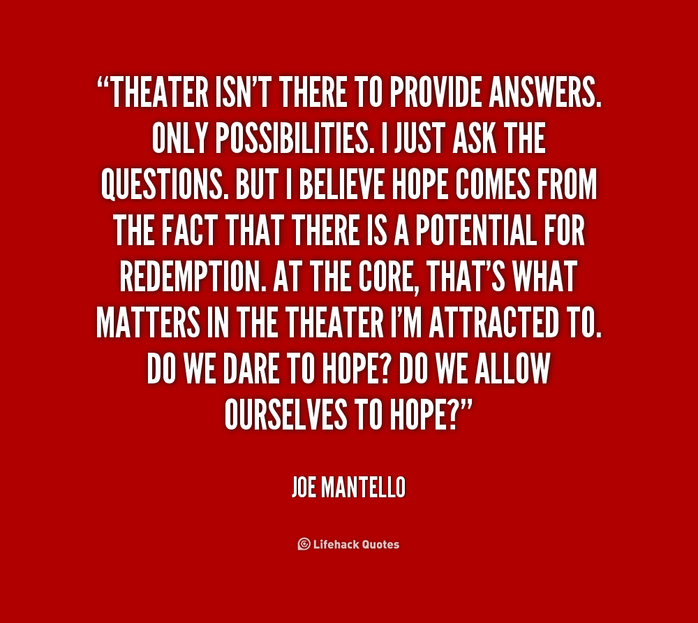 Quotes about Theatre (632 quotes)