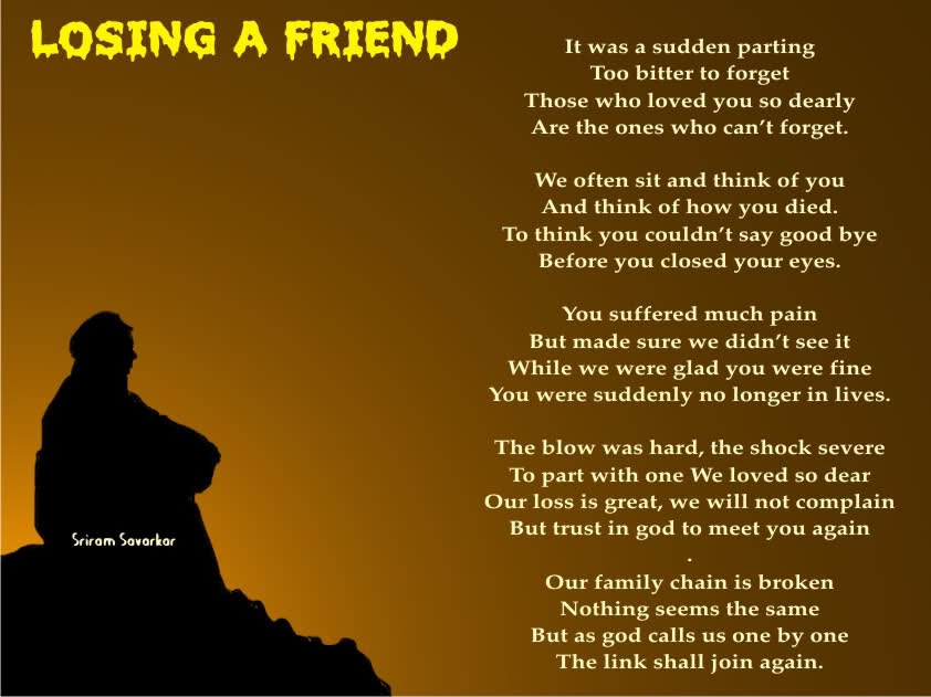 Quotes About Lose A Friend 77 Quotes