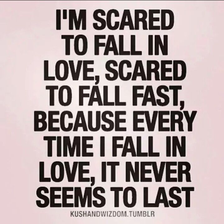 Scared To Fall In Love Quotes Unique Quotes About Afraid To Fall In Love 48 Quotes
