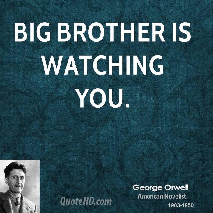 the influence of big brother in george orwells 1984 George orwell's timeless 1984 is one such literary work 'big brother' is the human image that represents the inner party (and the party line) via the telescreen providing an 'official' narrative while appropriating and misrepresenting the notion of brotherhood and.