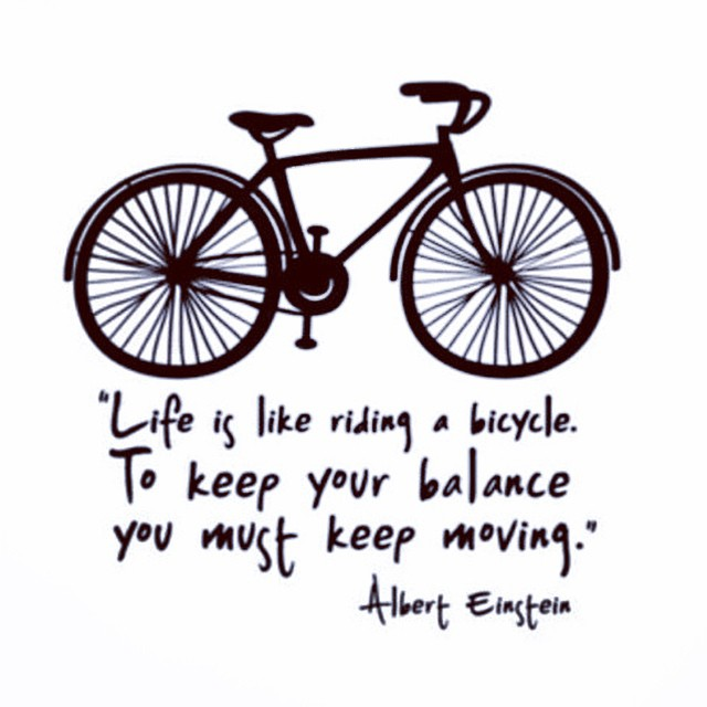 Quotes About Bicycle And Life 42 Quotes