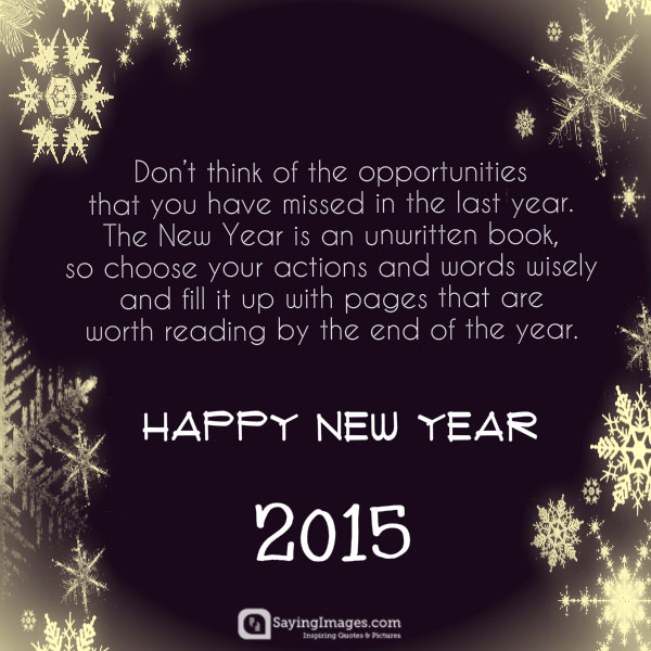 Quotes About New Year Inspirational 60 Quotes Unique Inspirational New Year Quotes