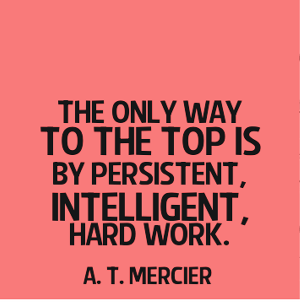 quotes about hard work success quotes