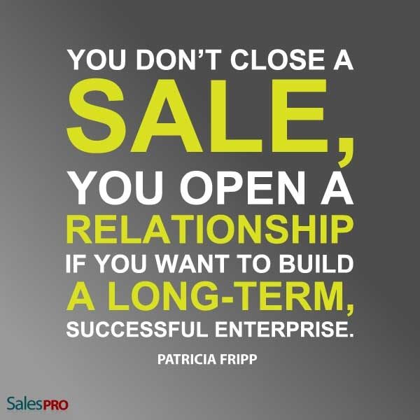 a long term business relationship