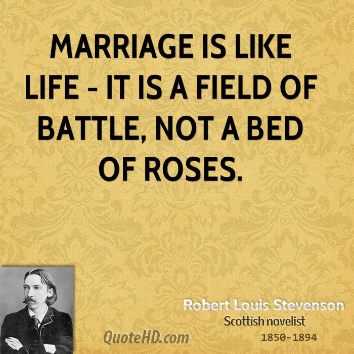 life is not the bed of