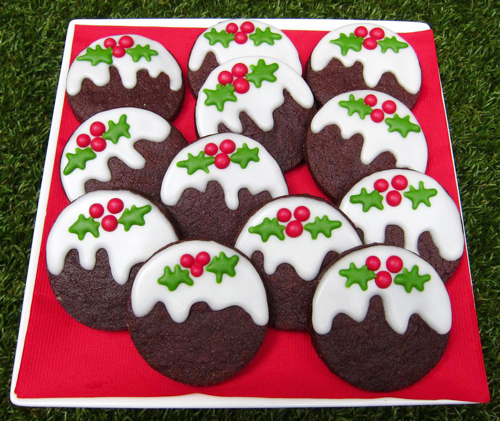 Новогоднее шоколадное печенье рецепты