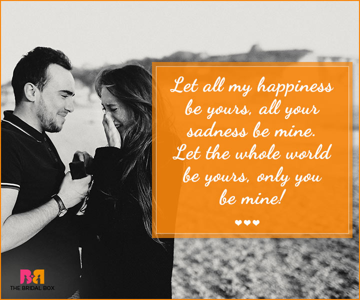 Quotes About Accepting A Marriage Proposal (15 Quotes